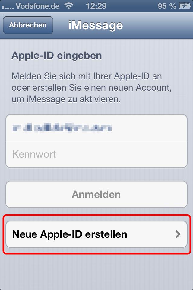 Neue Apple Id Online Erstellen
