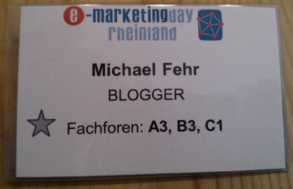 Als Blogger beim #EMD13