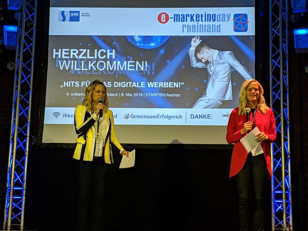 Angela Braun und Melanie Bergner